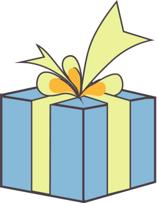 Gift Boxes Clip Art
