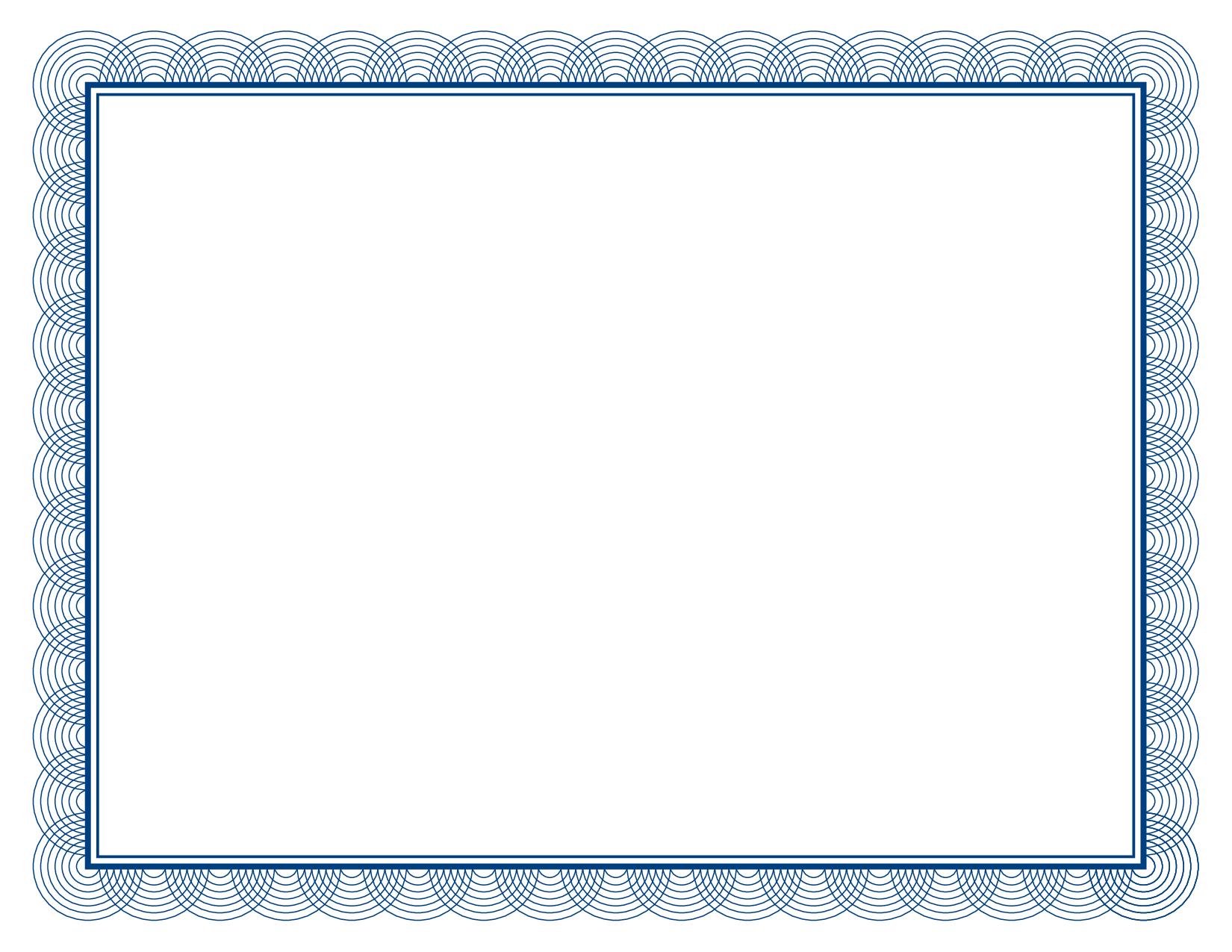 Gift Certificate Border Clipart Best