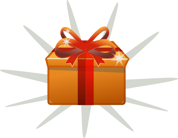 Gift Clip Art. Surprise .-Gift Clip Art. Surprise .-4