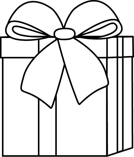 Gift Tag Clipart Black And White-Gift Tag Clipart Black And White-13