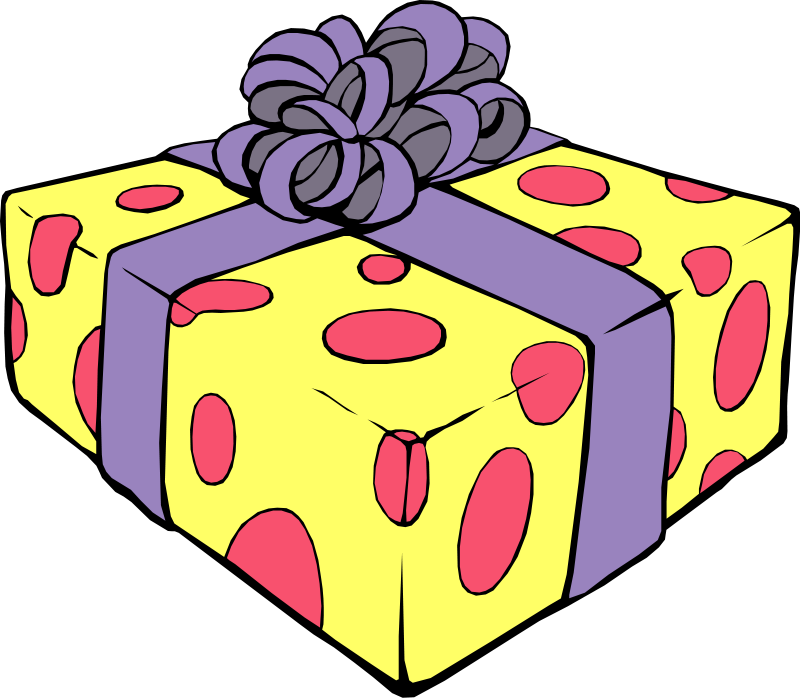 Gifts, Birthday Clipart .-Gifts, Birthday Clipart .-17