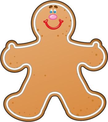 Gingerbread Girl Clip Art-Gingerbread Girl Clip Art-5
