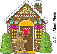 ... Gingerbread House and Man - A cute little decorated.