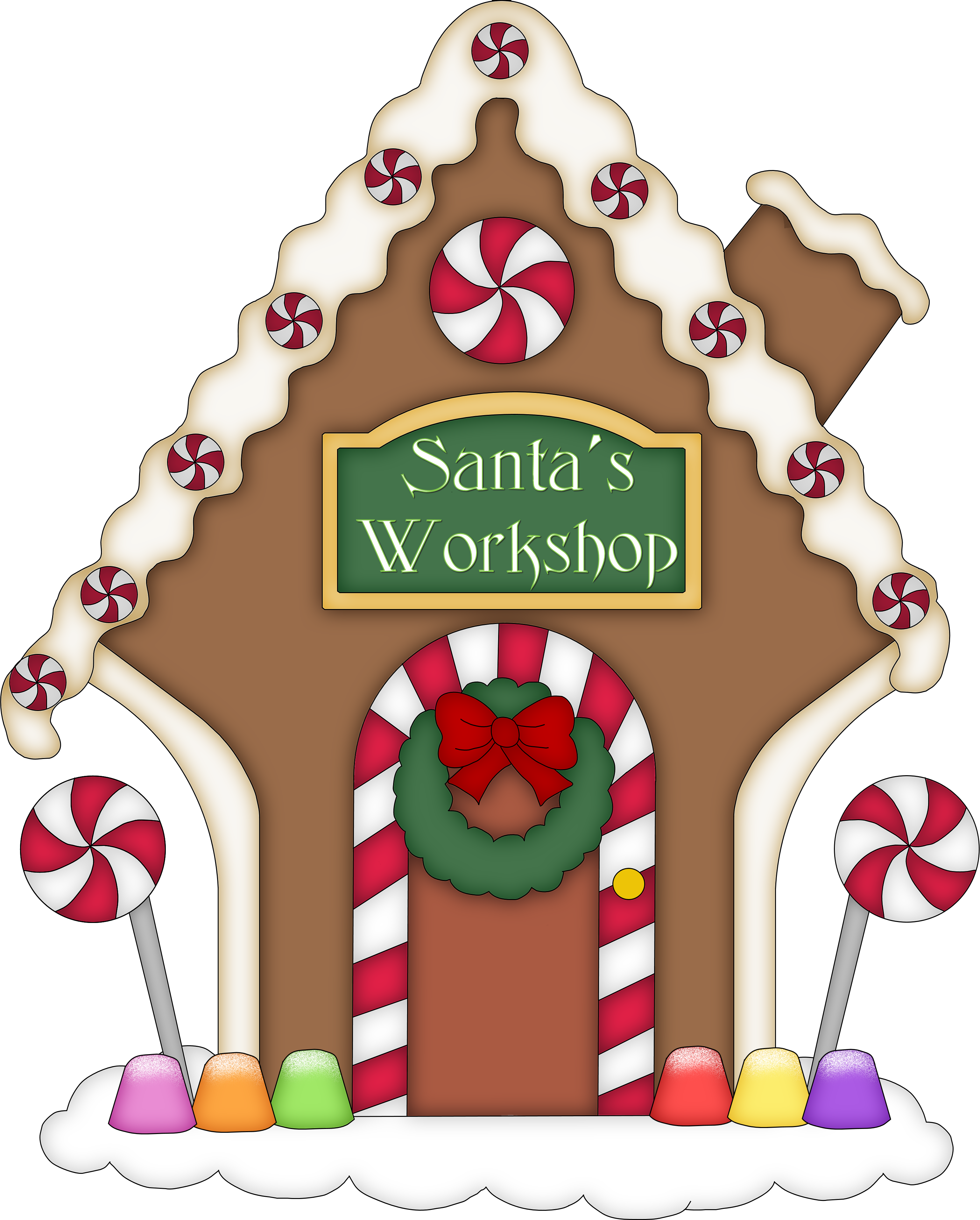 Gingerbread House Clip Art Clipart Best
