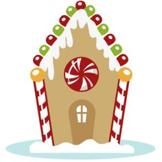 Gingerbread House Clip Art u2013 Clipart Free Download ...