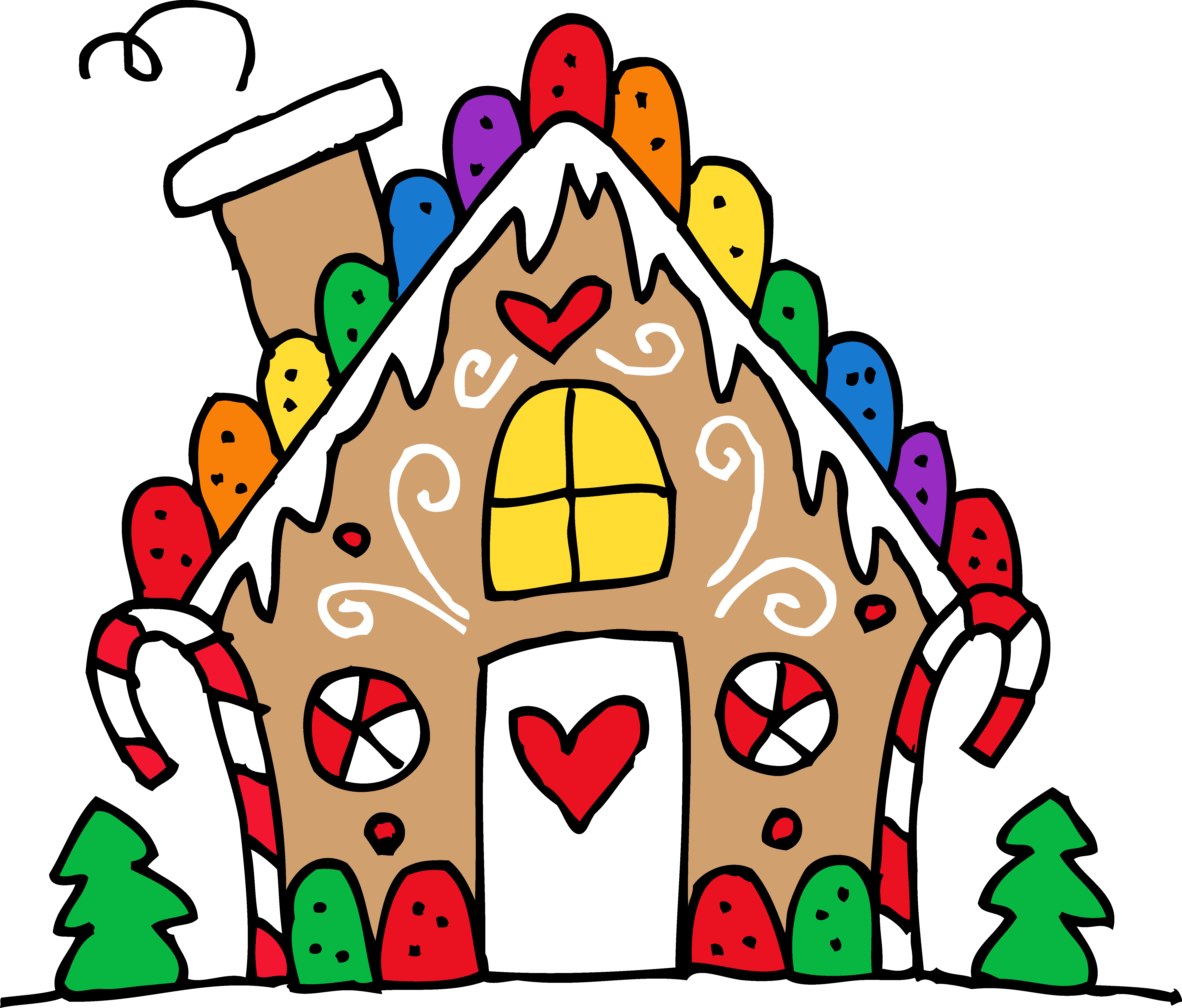 Gingerbread House Clip Art ... f3990c33ab5723628752c8610aa6b1 .