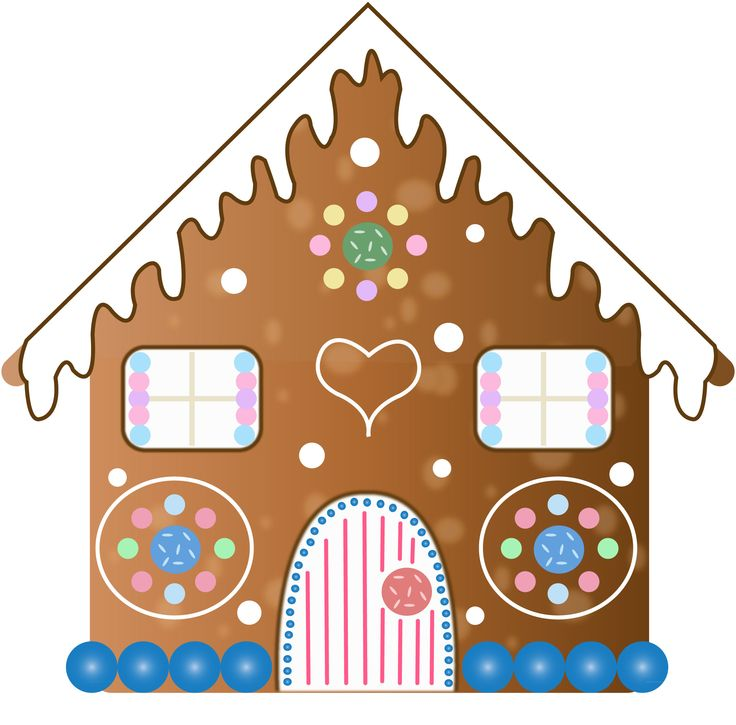 ... Gingerbread House Clipart - clipartall ...
