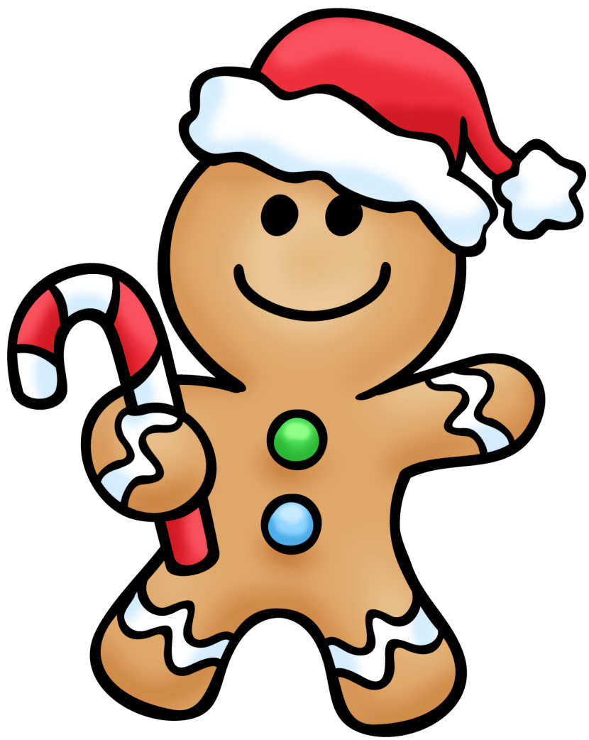 Gingerbread Man 3 Clipart Free Clip Art Images