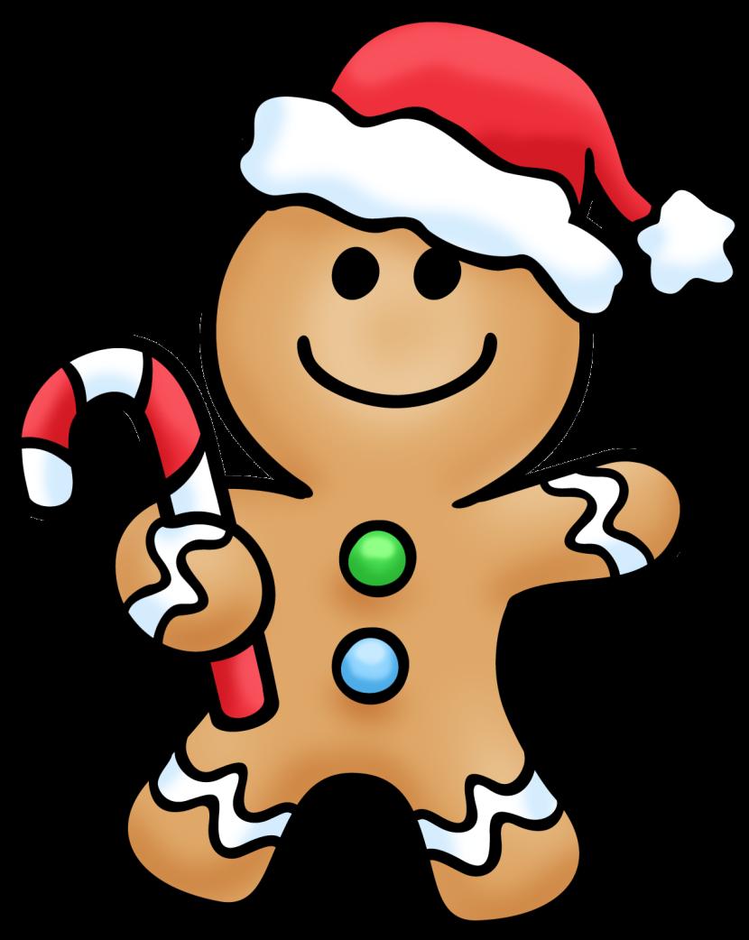 Gingerbread Man 3 Clipart Free Clip Art -Gingerbread Man 3 Clipart Free Clip Art Images-6