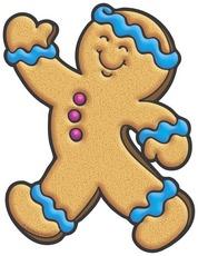 Gingerbread Man Clip Art-Gingerbread Man Clip Art-9