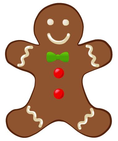 Gingerbread Man Clip Art-Gingerbread man clip art-11
