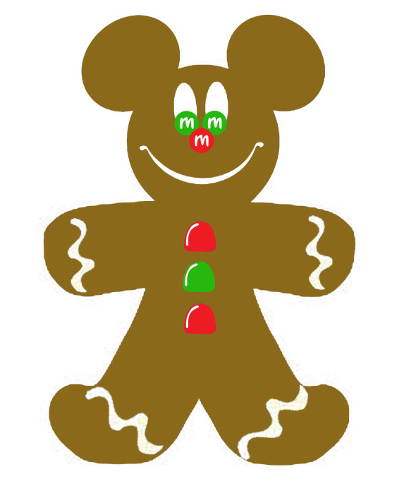 Gingerbread Man Clip Art