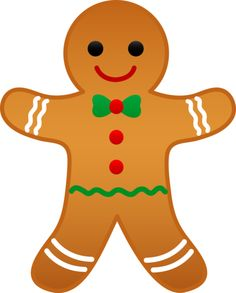 Gingerbread man clip art free free clipart images