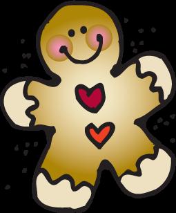 Gingerbread Man Clipart-Gingerbread Man Clipart-14