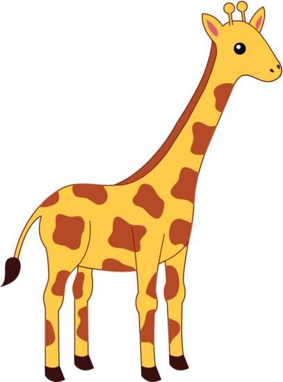 Giraffe Cartoon Animal Images - Clipart Giraffe