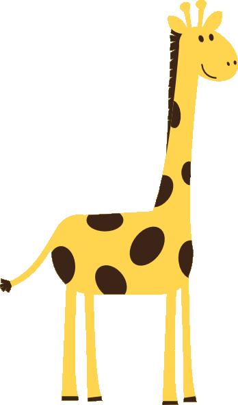 Giraffe Clip Art - Baby Giraffe Clip Art