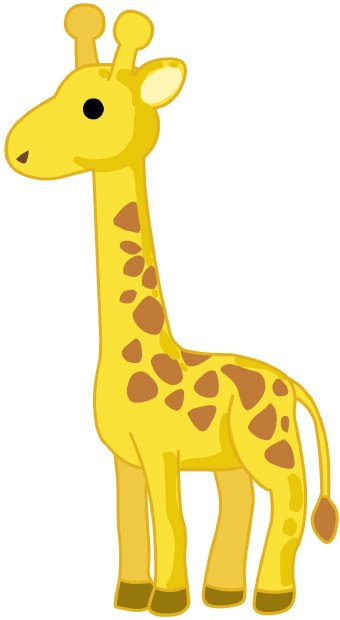 Giraffe Clip Art - Clipart Giraffe