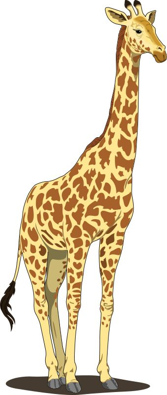 Giraffe Clip Art | Giraffe Clip Art Roya-Giraffe Clip Art | Giraffe Clip Art Royalty FREE Animal Images | Animal Clipart Org | Wimsey | Pinterest | Search, Animals images and Clip art-16