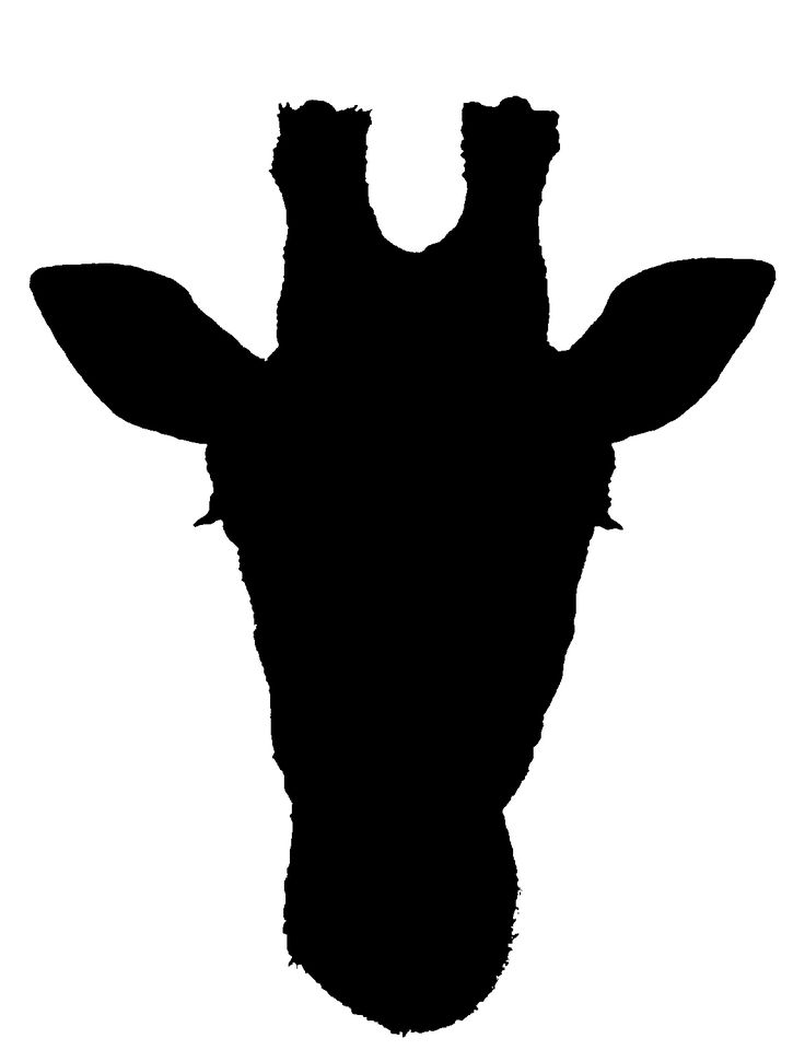 Giraffe silhouette for painting party. F-Giraffe silhouette for painting party. Free Clipart ...-12