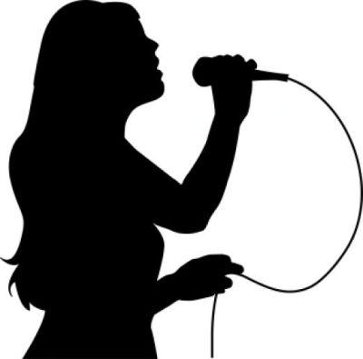 Girl Singing Clipart-girl singing clipart-7