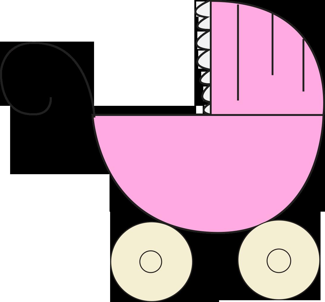 Girl Baby Shower Clip Art