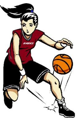 Girl Basketball Player Clipart-Girl Basketball Player Clipart-4