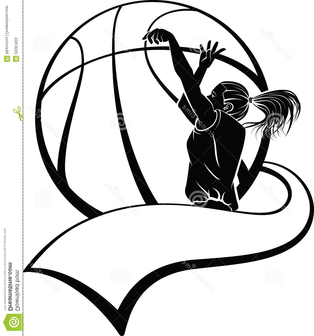 Girl Basketball Player Clipart Shooting basketball shooting clipart 1218 x 1300