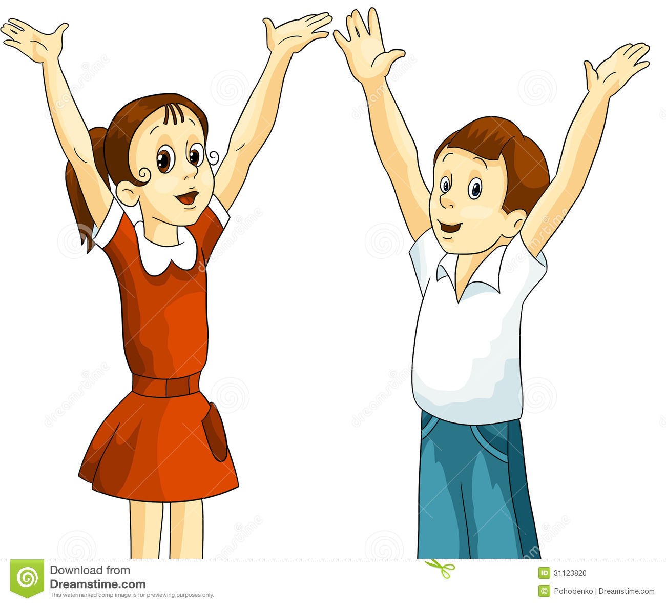 Girl boy children clipart .-Girl boy children clipart .-12