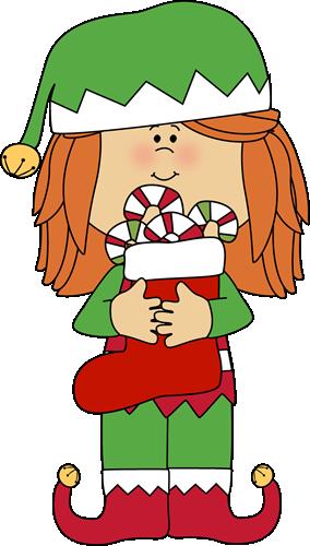 Girl Christmas Elf
