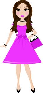Girl Clipart Image: .-Girl Clipart Image: .-14