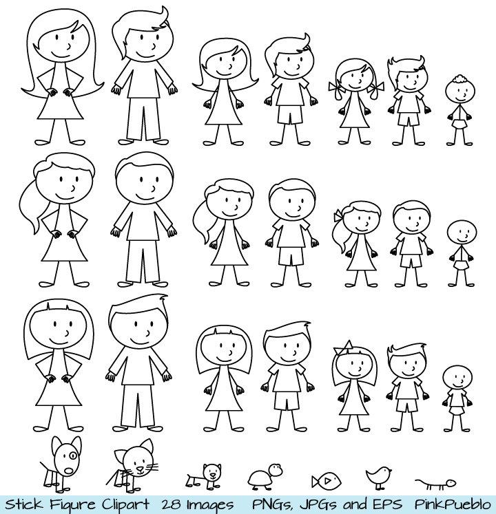 Girl Clipart Stick Figure Free ... 1000 -Girl clipart stick figure free ... 1000 images about clip art on .-9