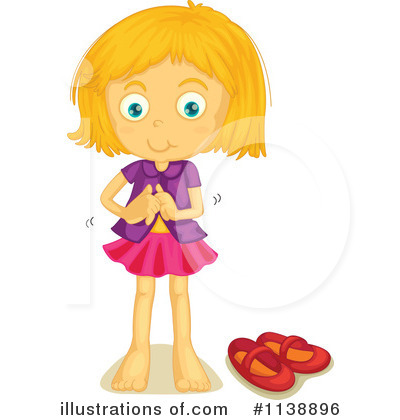 Girl Get Dressed Clipart - Getting Dressed Clipart