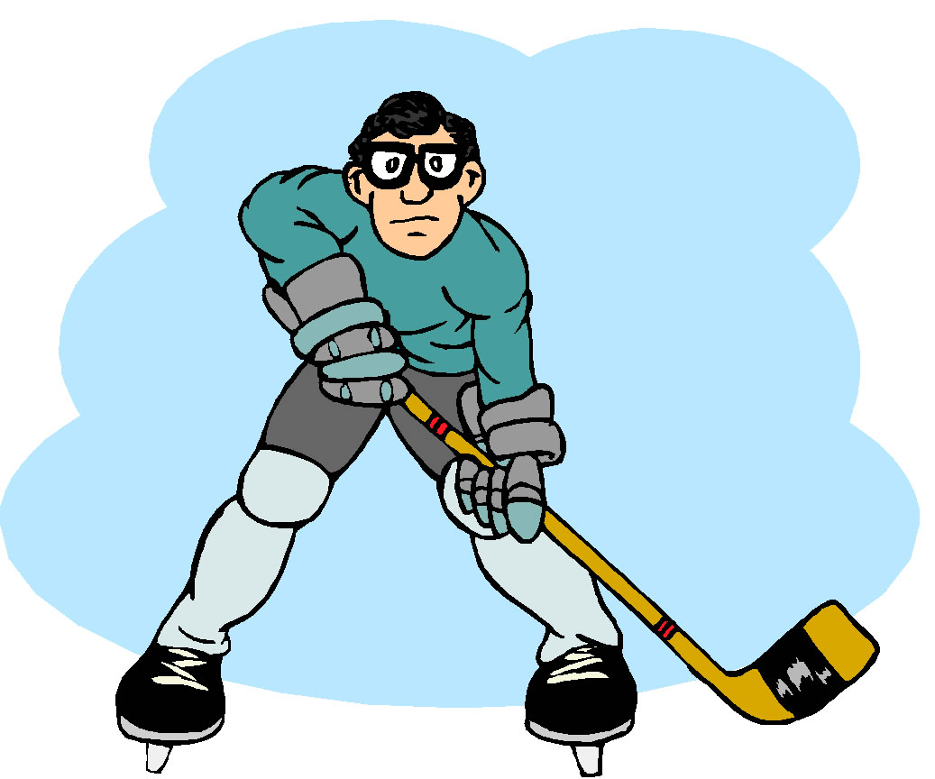Girl Ice Hockey Clipart Hocke - Ice Hockey Clipart