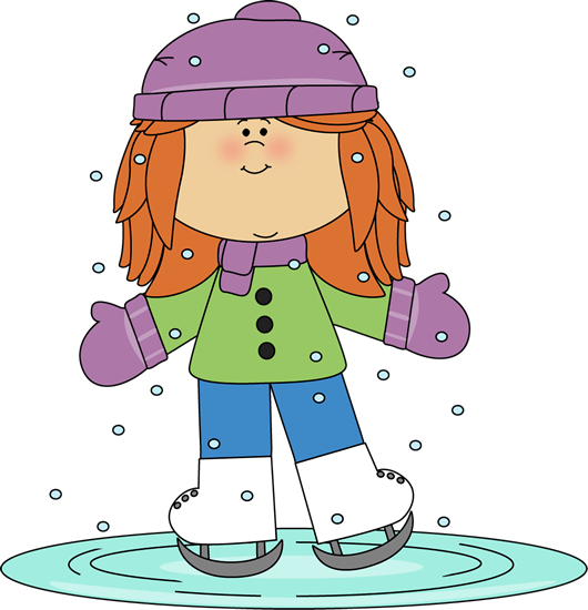 Girl Ice Skating Clip Art Girl Ice Skating Image