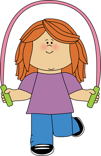 Girl Jumping Rope-Girl Jumping Rope-2