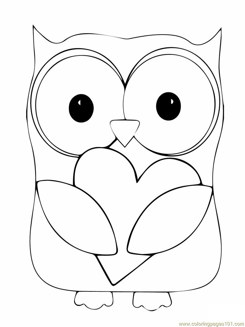Girl Owl Clipart Black And White. Download