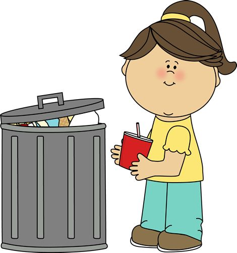 Girl Picking Up Trash Clip Art ..-Girl Picking Up Trash Clip Art ..-10