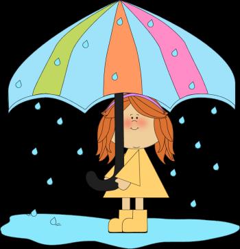 Girl Playing in the Rain-Girl Playing in the Rain-0