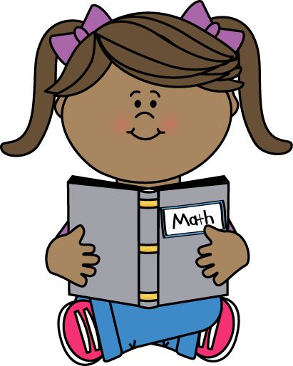 Girl Reading a Math Book-Girl Reading a Math Book-11