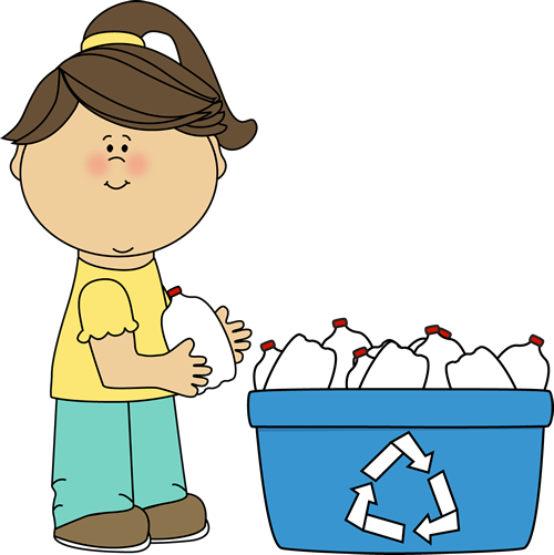Girl Recycling Plastic Bottles Clip Art -Girl Recycling Plastic Bottles Clip Art Girl Recycling Plastic-5