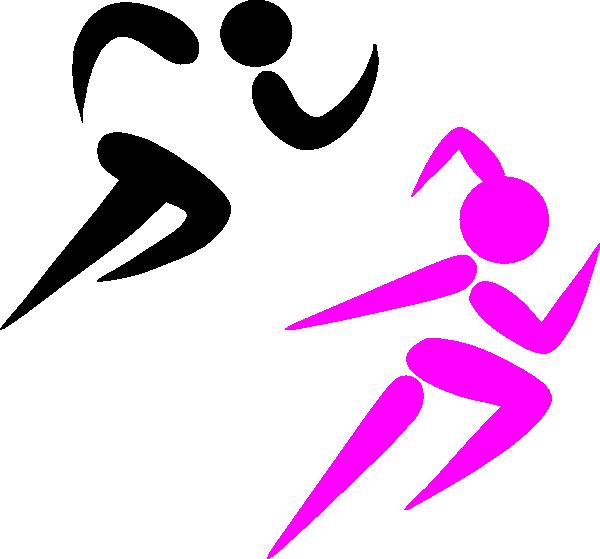 Girl Running Clip Art At Clker Com Vector Clip Art Online Royalty