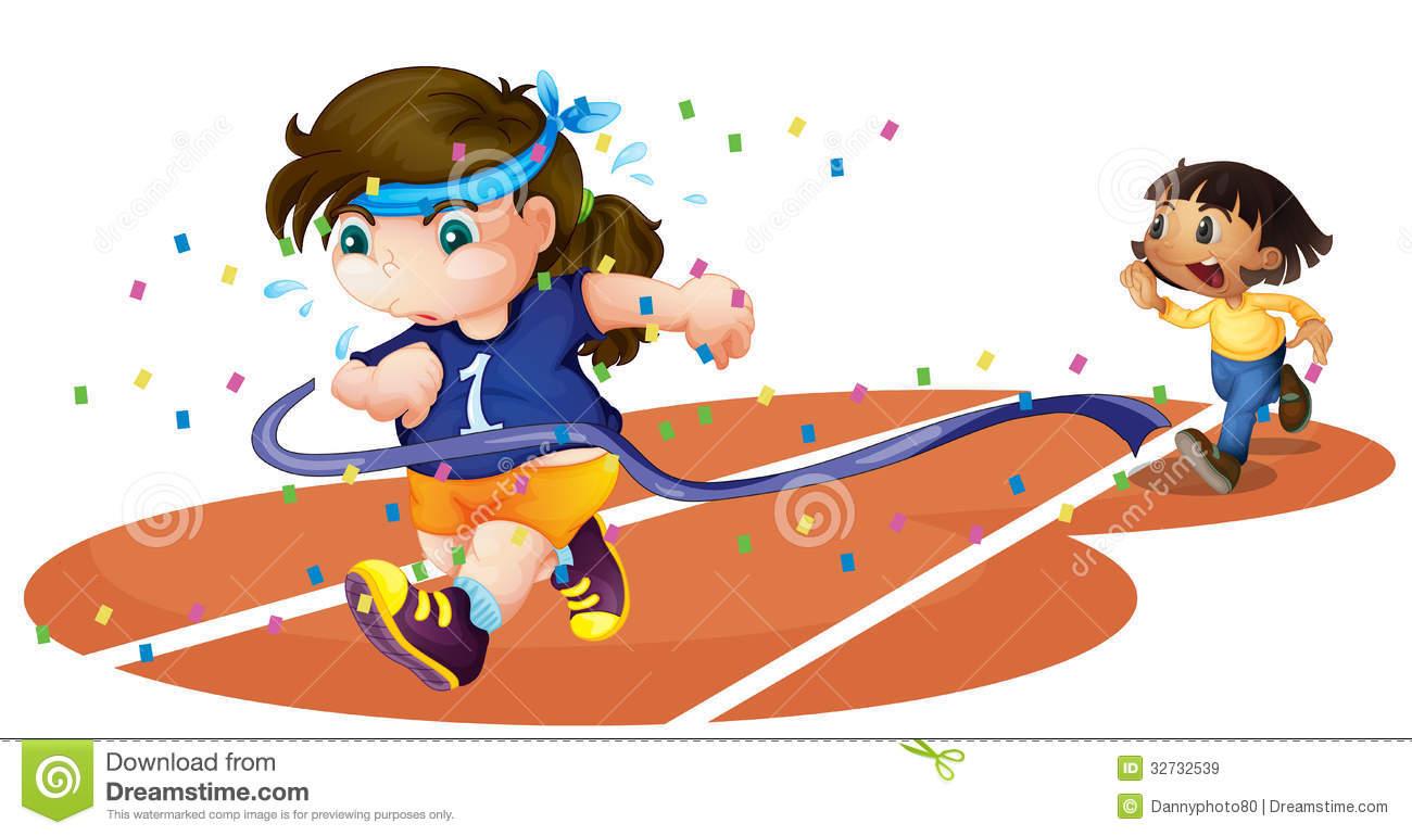 Girl Running Race Clipart Girls On A Rac-Girl Running Race Clipart Girls On A Race Track-16