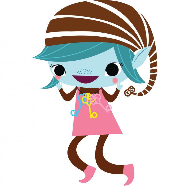 Girl Scout Brownie Happy Elf Girl Scouts Brownie Pinterest
