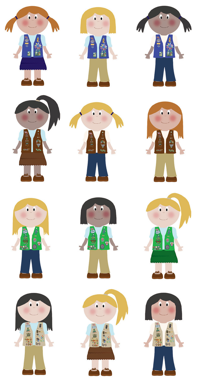 Girl Scout Clip Art Wefollowpics