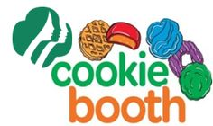 Girl Scout Cookie Booth Clipart #1