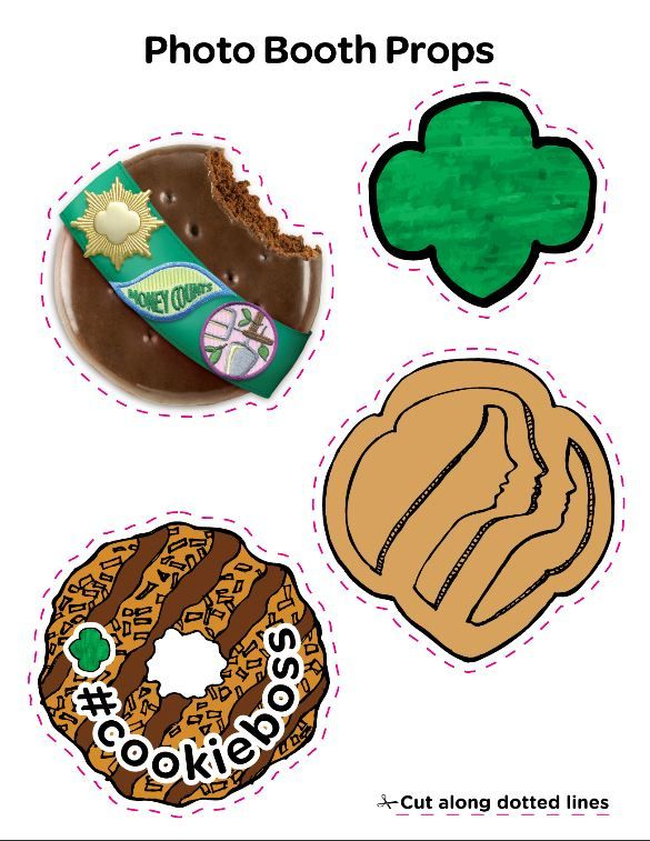 Girl Scout Cookie Photo Props-Girl Scout Cookie Photo Props-12