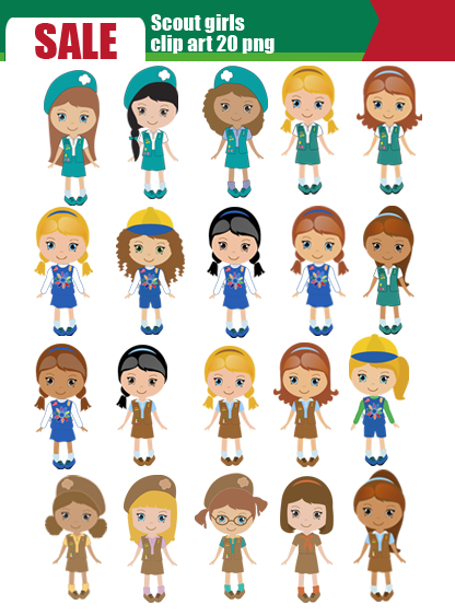 girl scout daisy clip art daisy girl scout clipart clipart kid
