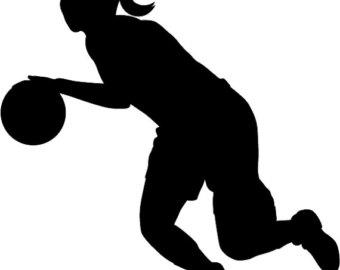 Girl Shooting Basketball Clipart Gallery