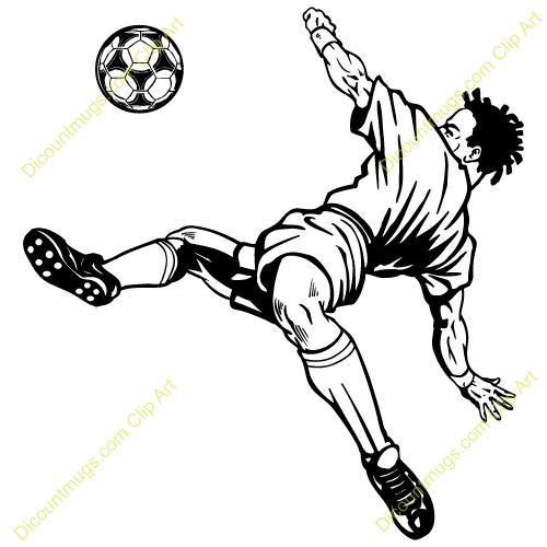 Girl Soccer Kick Clipart-Girl Soccer Kick Clipart-5