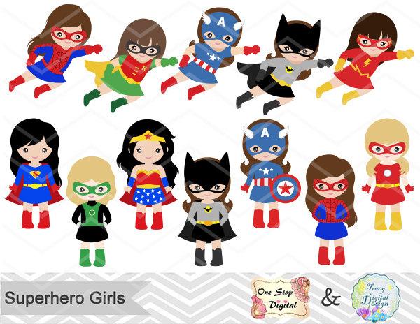 ... Girl Superhero Clip Art, Little. -... Girl Superhero Clip Art, Little. -9